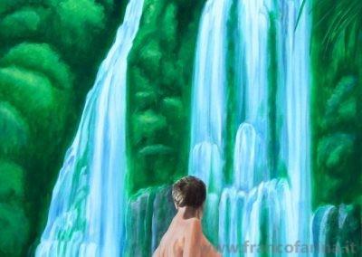 Ascoltando la cascata