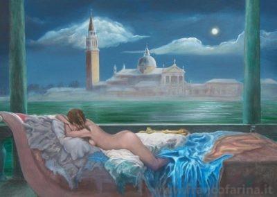 Dopo il carnevale di Venezia, la dama della Luna dormiente