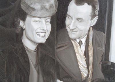 Ritratto dei genitori Graesan
