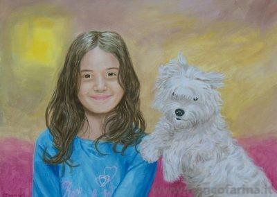 Ritratto di Elena e Paco