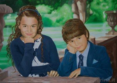 Ritratto di Jinny e Lello II
