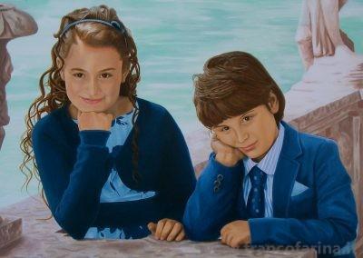 Ritratto di Jinny e Lello