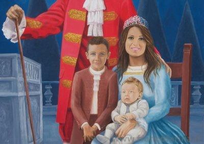 Ritratto di famiglia P.