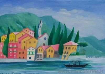 Lago sognato, Varenna. (Lago di Como)