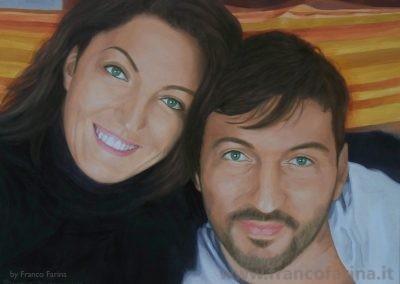 Ritratto di Claudia e Luca