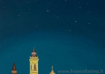 Bergamo alta di notte