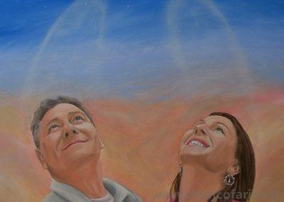 Ritratto di Enrico e Daniela