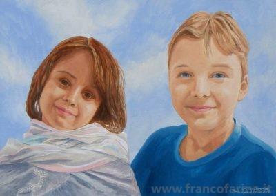 Ritratto di Enrico e Giulia