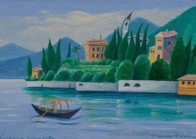Lago sognato, Varenna Villa Cipressi. (Lago di Como)