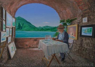 Dipingendo il lago di Como