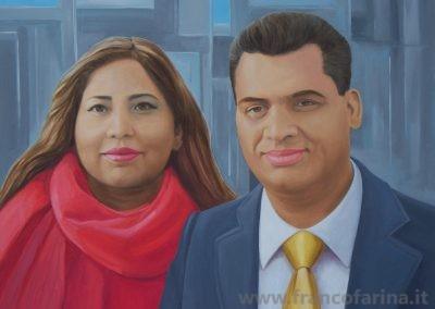 Ritratto di Asif e Sumi